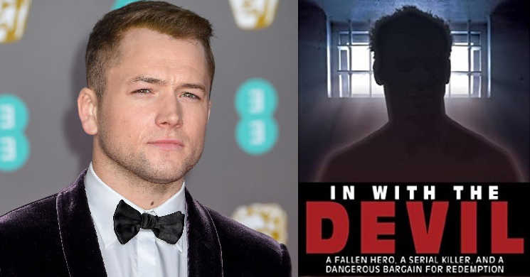 Taron Egerton vai liderar o elenco da serie In With the Devil