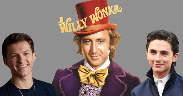 Tom Holland e Timothee Chalamet entre os favoritos para o papel de Willy Wonka