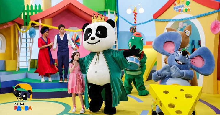 Folia de Carnaval vai ser festejada em casa com o Canal Panda