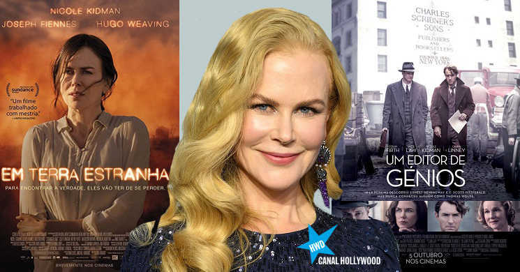 Dupla Nicole Kidman no Canal Hollywood