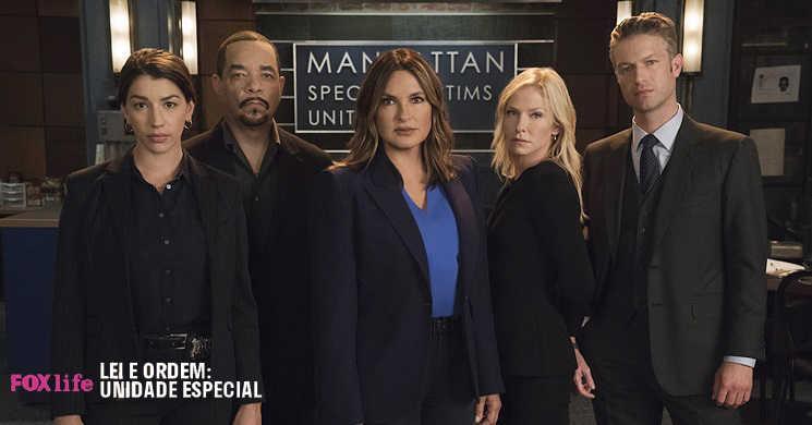 Fox Life estreia a temporada 22 da serie Lei & Ordem: Unidade Especial