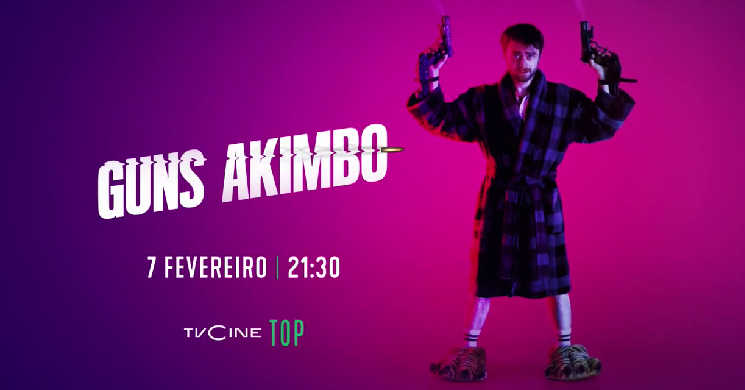 Guns Akimbo estreia no TVCine Top