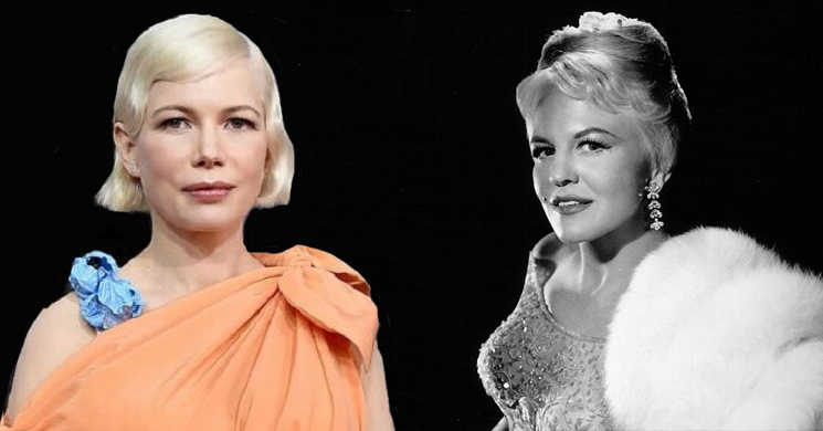 Michelle Williams vai interpretar a cantora Peggy Lee no biopic