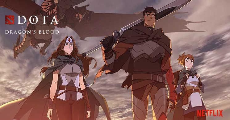 Netflix anuncia data de estreia da série de anime