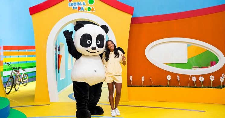 Patricia Mamona convidada do Canal Panda
