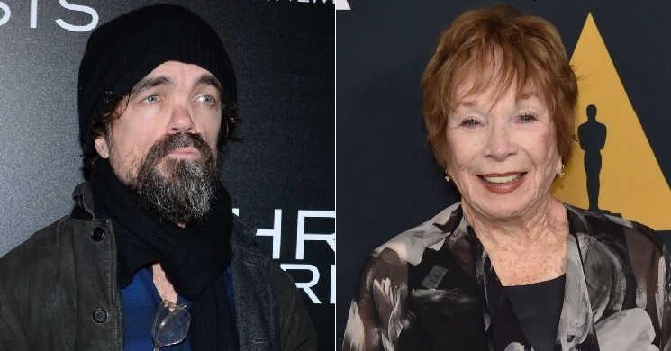 Peter Dinklage e Shirley MacLaine vão liderar o elenco de