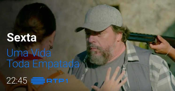 RTP1 estreia o telefilme Uma Vida Toda Empatada