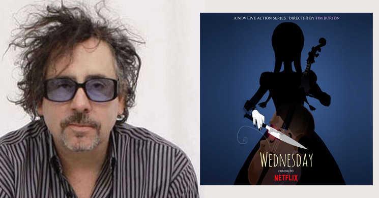 Tim Burton vai dirigir série Wednesday