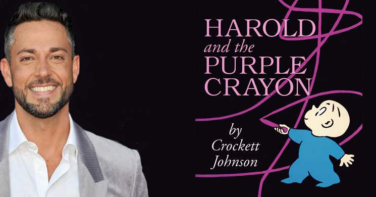 Zachary Levi vai protagonizar o filme Harold and the Purple Crayon