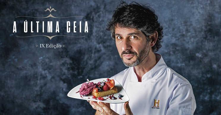Chef Bertilio Gomes apresenta a sua proposta de menu para o Canal História
