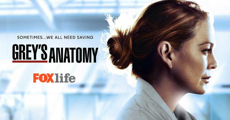 Fox Life estreia remporada 17 da série Anatomia de Grey