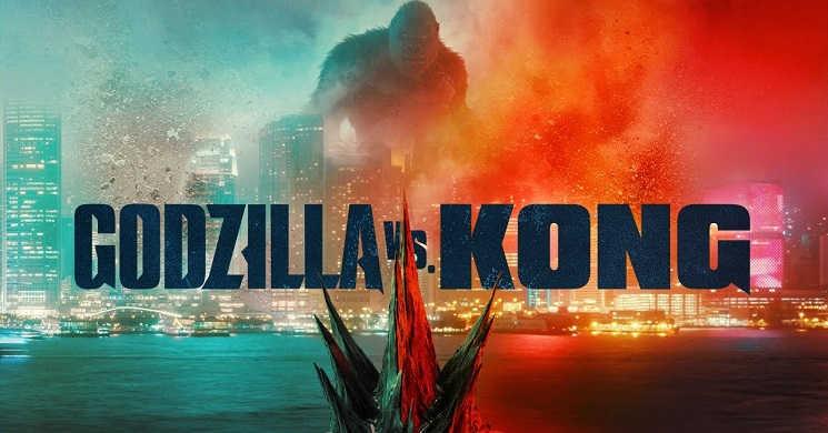 Godzilla vs. Kong teve a melhor estreia pós-pandemia