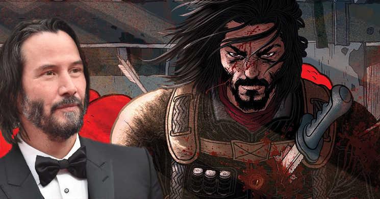 Keanu Reeves vai protagonizar filme live-action e uma série spin-off de anime de