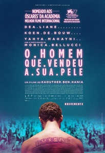 Poster do filme O Homem que Vendeu a sua Pele