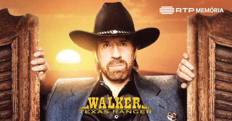 RTP Memória traz de volta a série Walker: Ranger do Texas