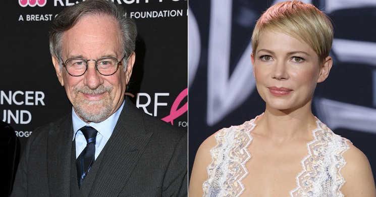 Spielberg prepara filme sobre a sua infância e poderá contar com Michelle Williams