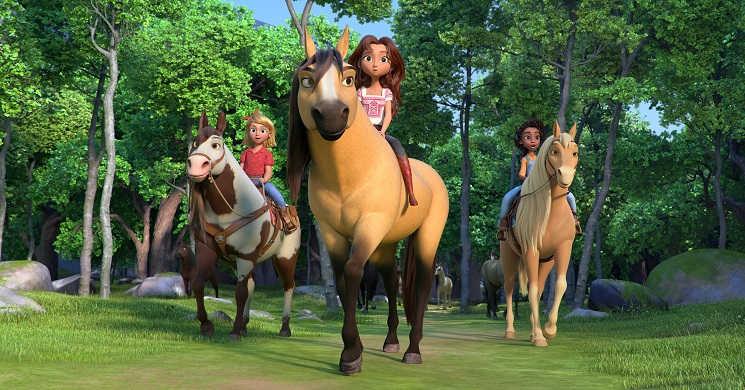 Trailer dobrado do filme animado Spirit Invencivel