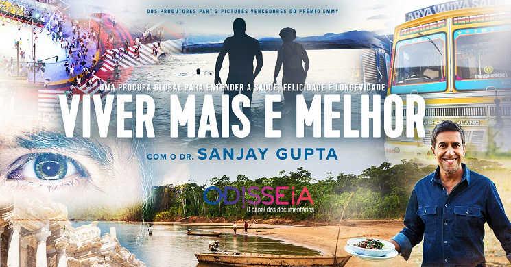 Canal Odisseia estreia a serie Viver Mais e Melhor