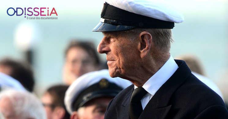Canal Odisseia exibe dois documentarios sobre o príncipe Filipe
