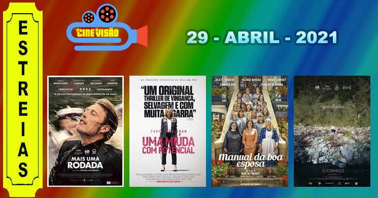 Conheça os quatro filmes que estreiam esta semana em Portugal