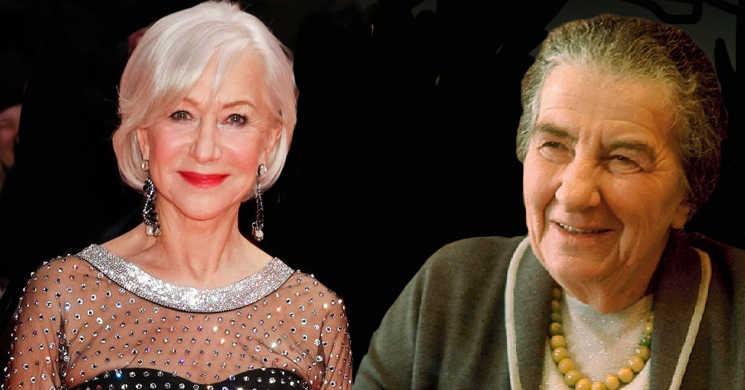 Helen Mirren interpretará a primeira-ministra israelita Golda Meir no biopic