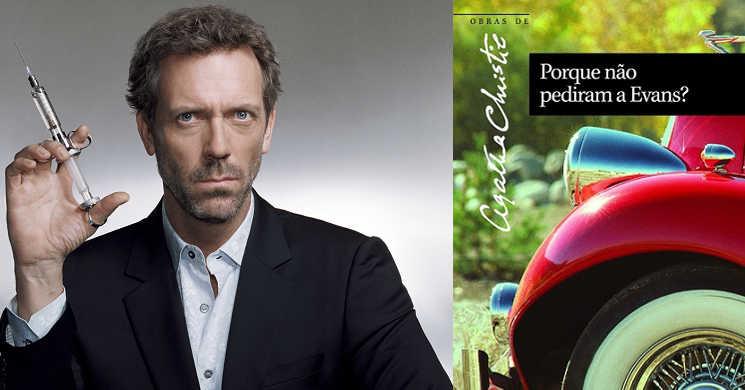 Hugh Laurie vai adaptar numa minisserie romance de Agatha Christie