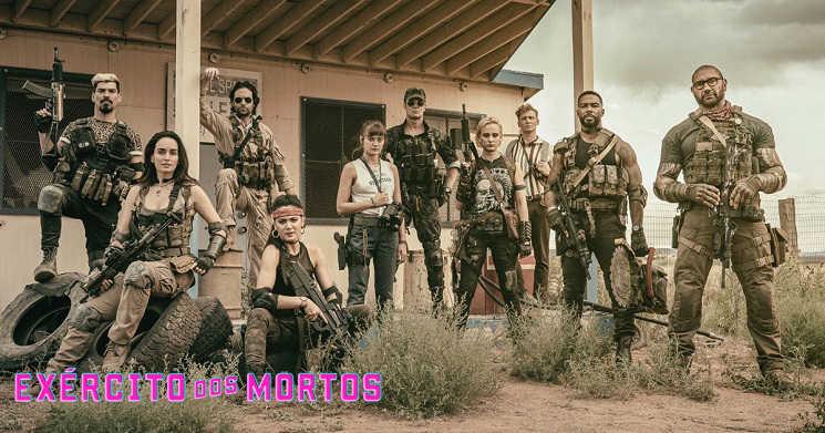 Novo trailer legendado do filme Exército dos Mortos