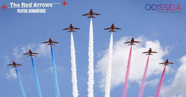 Odisseia estreia a série Red Arrows: Pilotos Acrobáticos