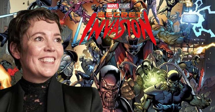 Olivia Colman pode estrear-se na serie Marvel Secret Invasion