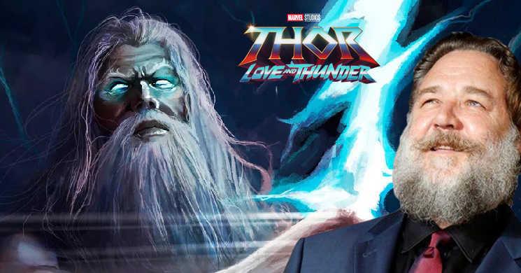 Russell Crowe confirma que será Zeus em
