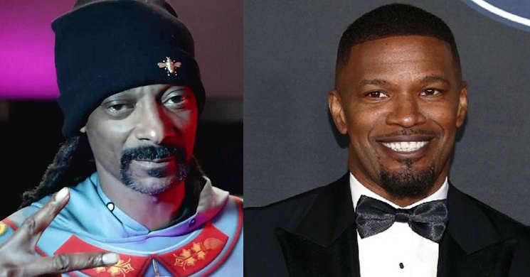 Snoop Dogg juntou-se a Jamie Foxx no filme Day Shift