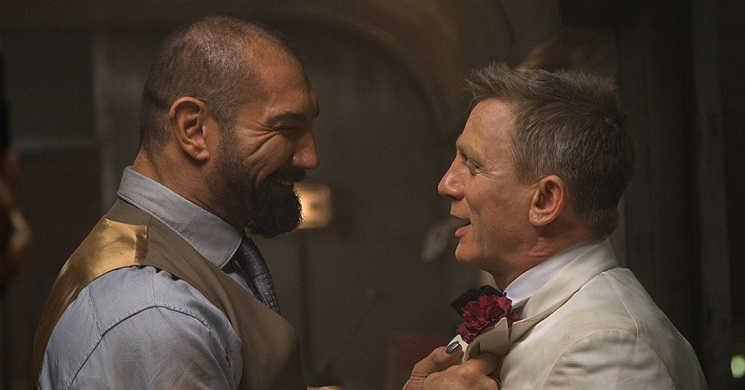 Dave Bautista vai fazer companhia a Daniel Craig na sequela de