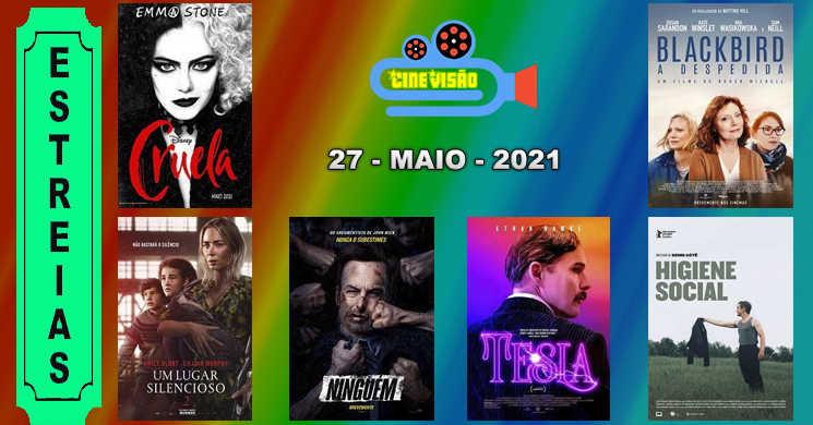 Estreias da semana nos cinemas portugueses: 27 de maio de 2021