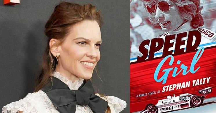 Hilary Swank será uma piloto de carros de corrida na adaptação de