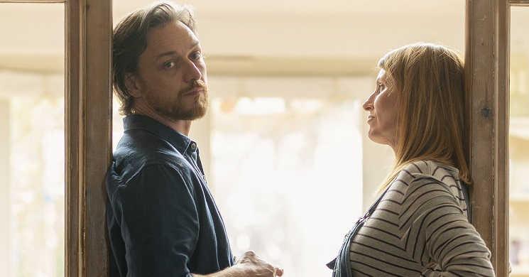 James McAvoy e Sharon Horgan no filme Together