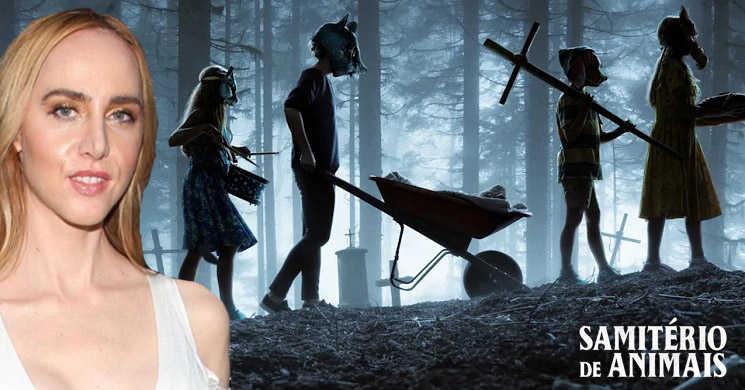 """Lindsey Beer vai estrear-se na realização com a sequela de """"Samitério de Animais"""""""