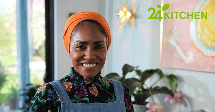 Nadiya Hussain estreia-se com três novos programas no canal 24Kitchen