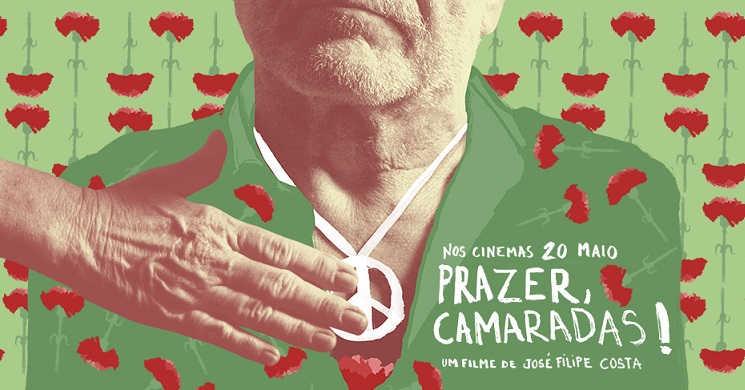 Prazer, Camaradas estreia nos cinemas a 20 de maio