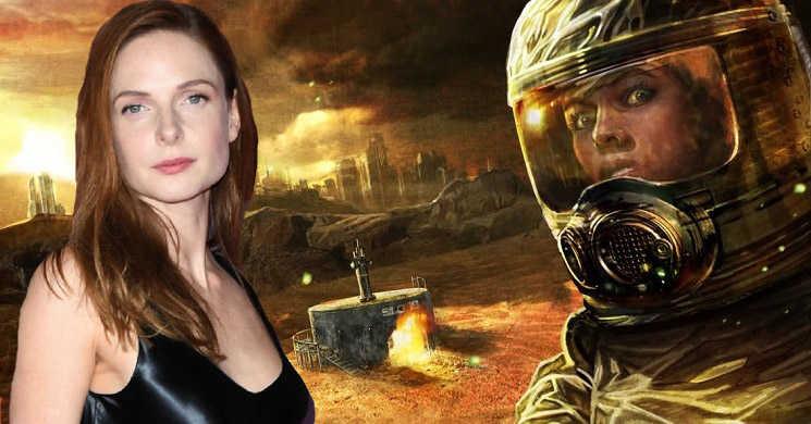 Rebecca Ferguson vai protagonizar a série Wool