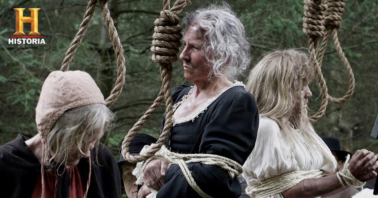 Canal Historia estreia a série As Bruxas de Salem