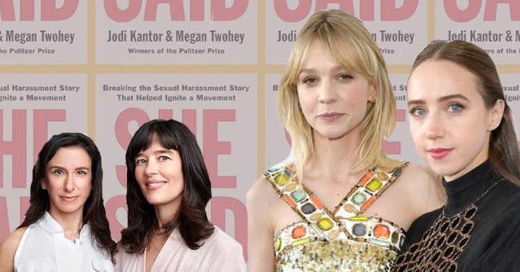 Carey Mulligan e Zoe Kazan serão as repórteres que divulgaram o caso Harvey Weinstein