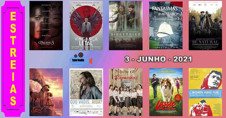 Estreias nos cinemas portugueses: 3 de junho de 2021