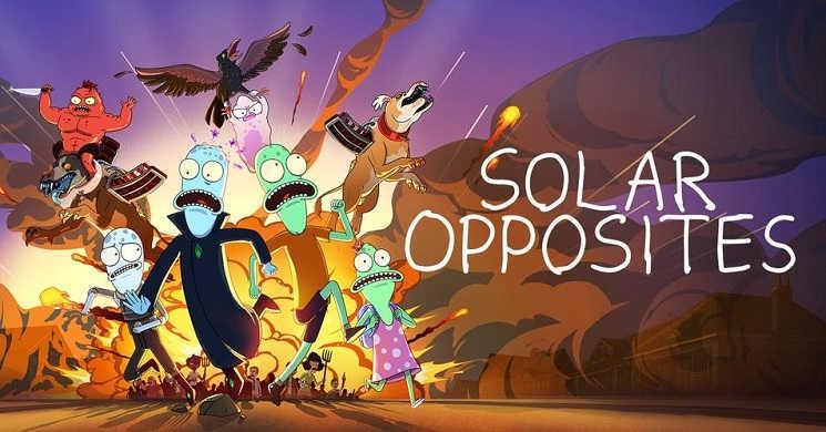 Hulu renova Solar Opposites para uma quarta temporada