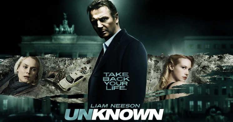 Jaume Collet-Serra e Liam Neeson na série Unknown