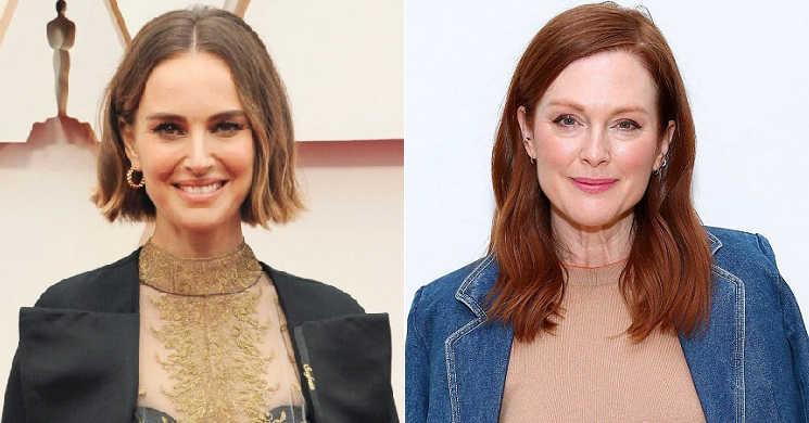 Natalie Portman e Julianne Moore no filme May December