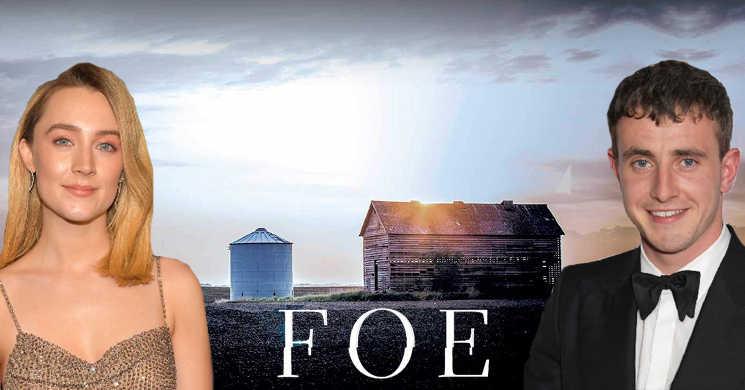 Saoirse Ronan e Paul Mescal serão um casal no thriller de ficção científica