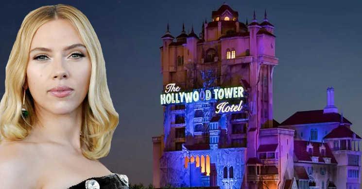 Scarlett Johansson vai produzir e protagonizar o filme Tower of Terror