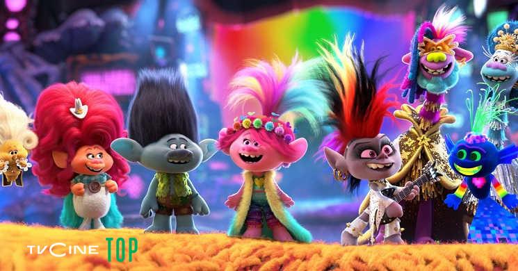 TVCine Top estreia o filme Trolls:Tour Mundial