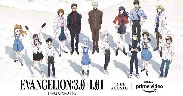 Amazon Prime Video estreia o filme Evangelion 3.0 -1