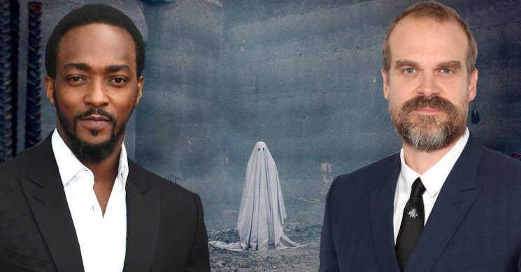 Anthony Mackie e David Harbour no elenco da aventura de fantasmas